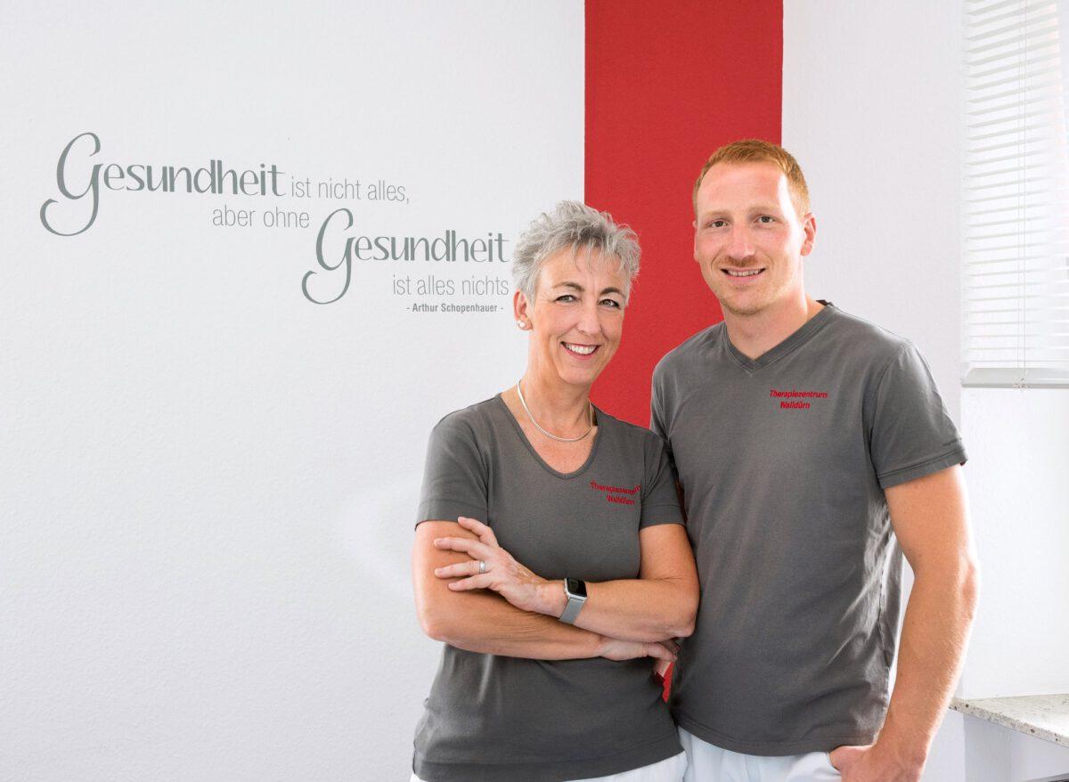 Carina und Paul Duszkewitz